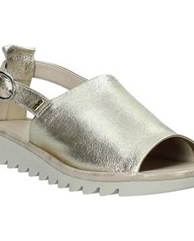 Žlté sandále Valleverde