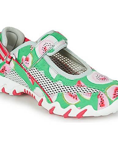 Zelené športové sandále Allrounder by Mephisto