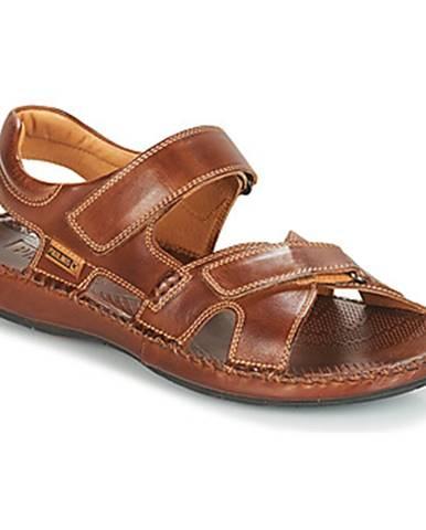 Hnedé sandále Pikolinos
