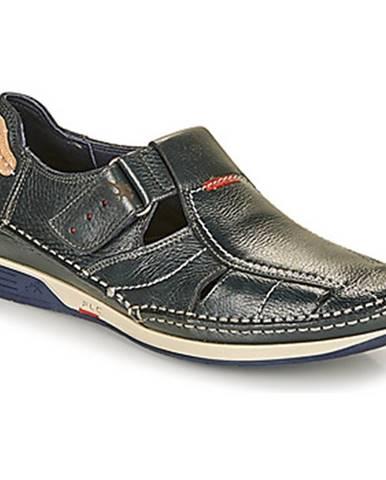 Modré sandále Fluchos