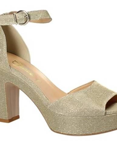 Žlté sandále Grace Shoes