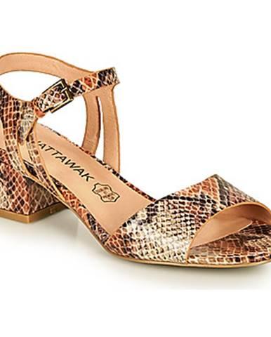 Hnedé sandále Chattawak