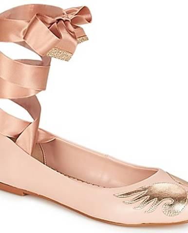 Ružové balerínky André