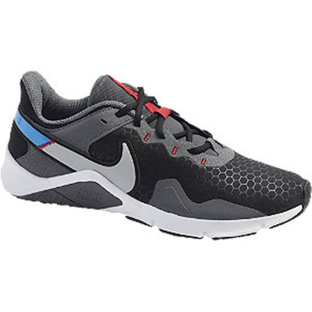 Nike Čierno-sivé tenisky Nike Legend Essential 2
