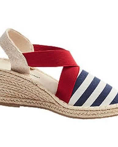 Modré sandále Claudia Ghizzani