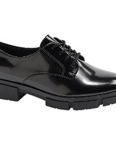 Čierne topánky Catwalk