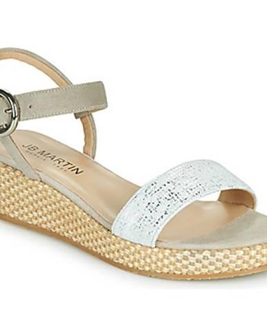 Biele sandále JB Martin