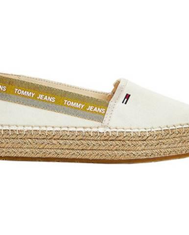 Biele espadrilky Tommy Jeans