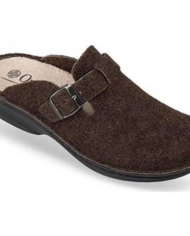 Hnedé papuče Mjartan
