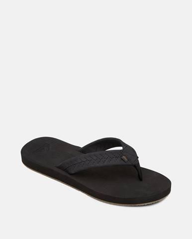 Čierne sandále Quiksilver