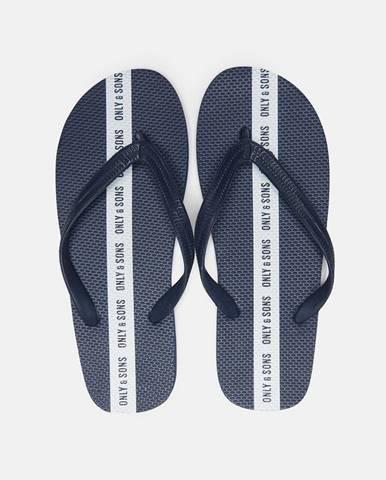 Modré sandále only & sons