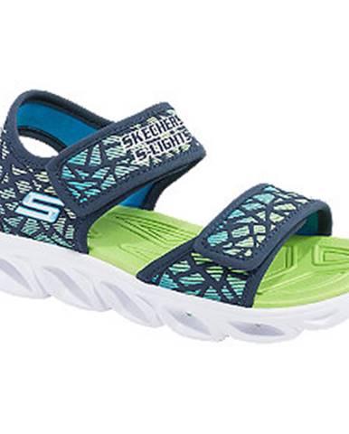 Modré sandále Skechers