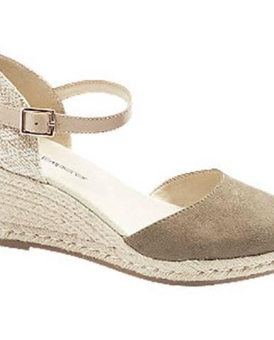 Zelené sandále Graceland