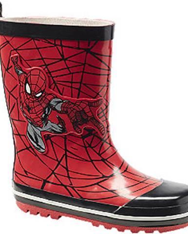 Gumáky a galoše Spiderman