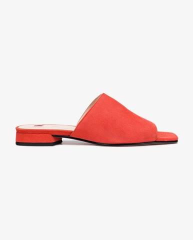 Červené papuče Högl