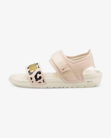 Béžové sandále Puma