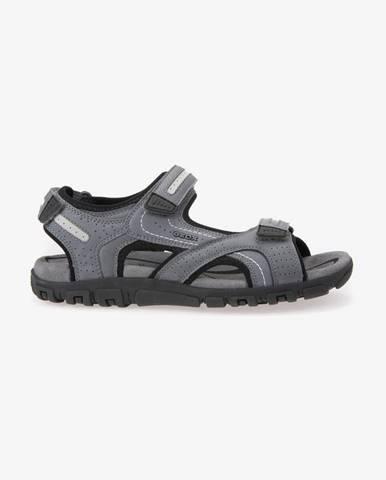 Sivé papuče Geox