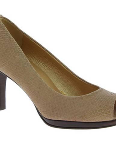 Béžové topánky Stuart Weitzman