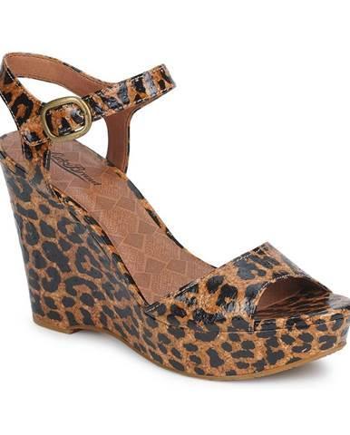 Hnedé sandále Lucky Brand