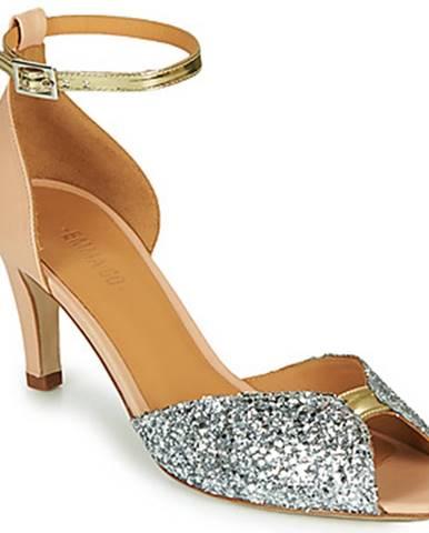 Strieborné sandále Emma Go