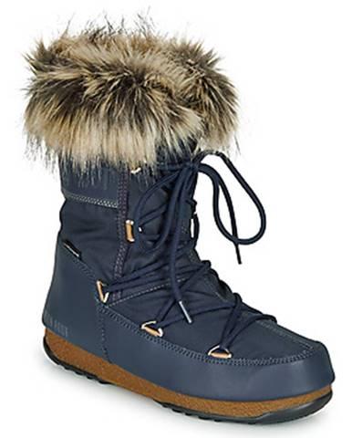 Modré topánky Moon Boot